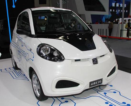 前8月眾泰新能源汽車銷量約1.17萬