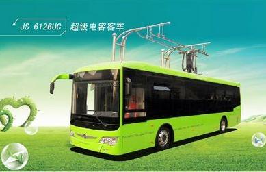 超级电容城市电动公交客车代表的不仅仅是上海新能源汽车的技术和产品