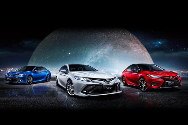 广汽丰田第八代凯美瑞 将于今日正式上市