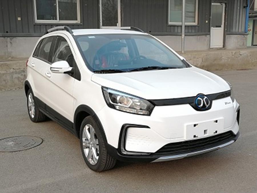 北汽新能源EC5申报图曝光 最高车速100km/h
