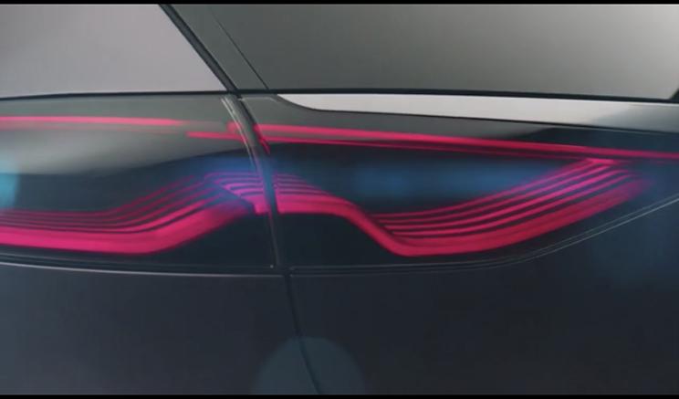 腾势Concept X概念车曝光 科技范十足