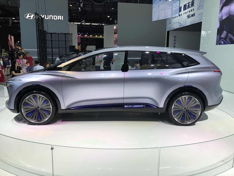 未来感十足 荣威Vision-i概念车亮相CES Asia