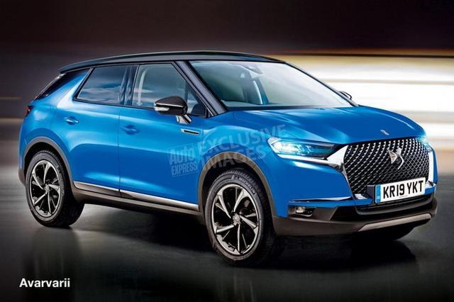 DS3 Crossback SUV假想图 或推纯电动版本