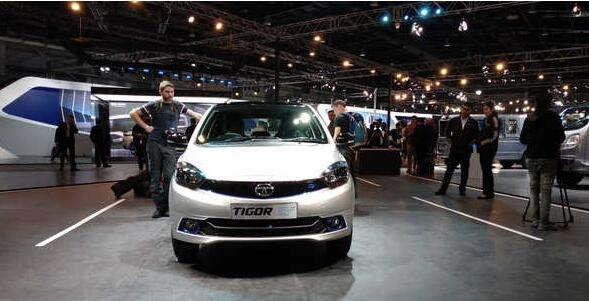 塔塔Tigor电动汽车11月印度开售 更多细节曝光