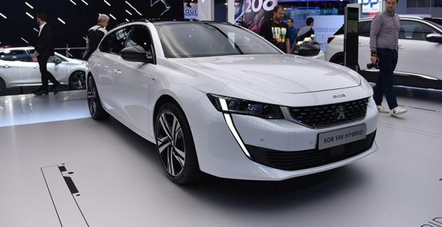 2018巴黎车展 标致亮相三款混动车型