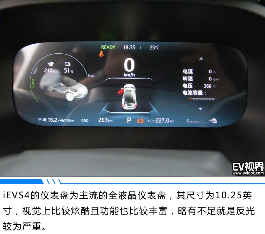 长续航+全智能,你想要的都在这儿 江淮iEVS4试驾体验
