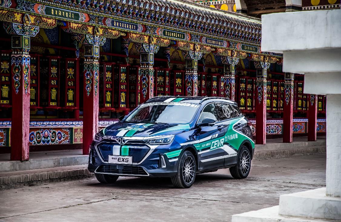 达尔文智能军团首次集结 北汽新能源出征2019环青赛