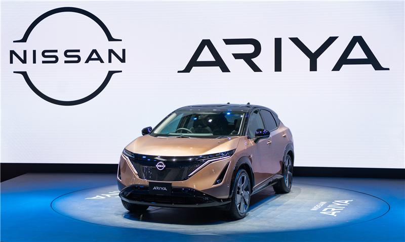 东风日产导入,Ariya今年将在中国市场上市