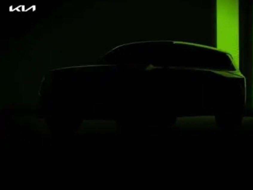 起亚全新电动SUV预告图 续航可达600km