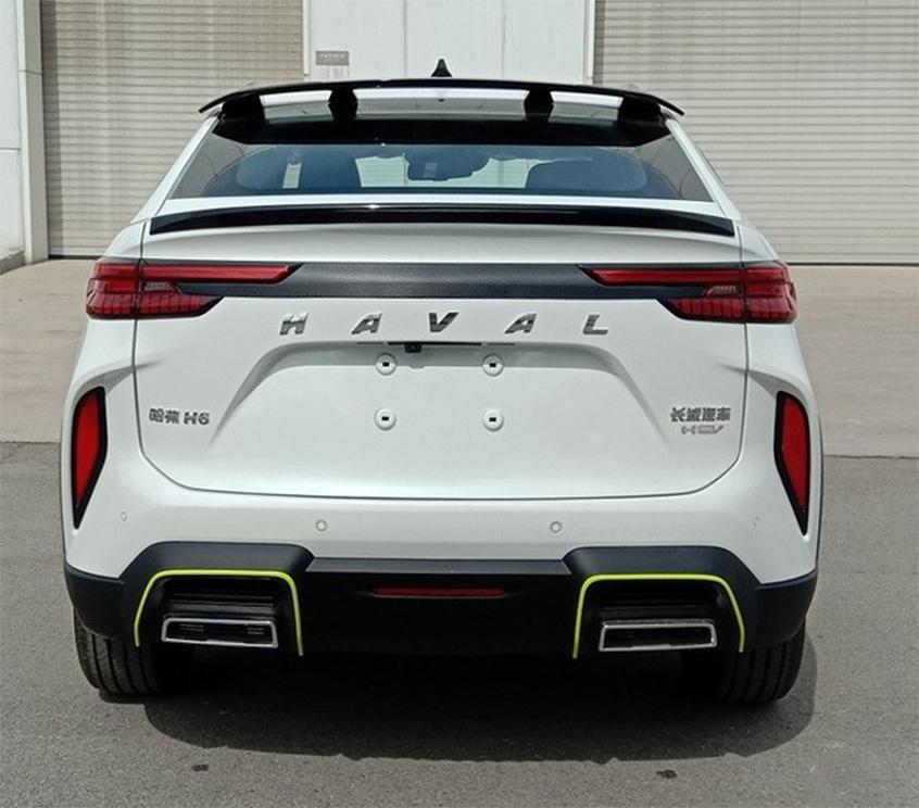 全新哈弗H6轿跑版HEV车型