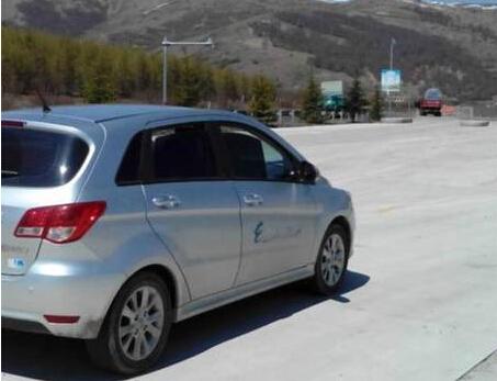 北汽E150ev电动车高原山区700公里记