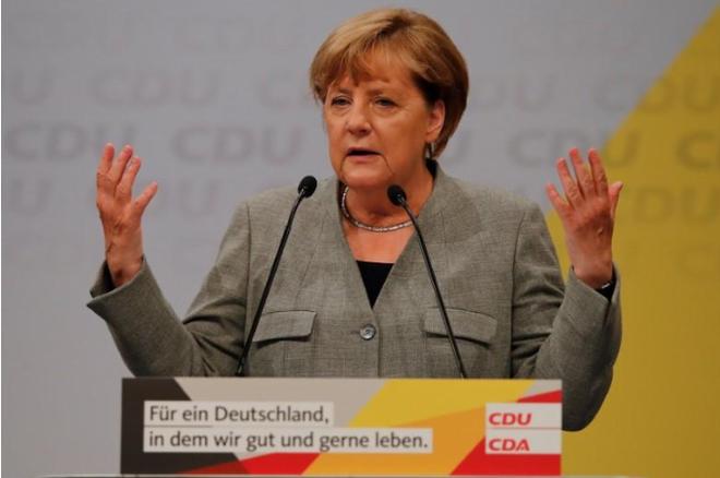 德国总理默克尔拒绝推动电动汽车配额标准