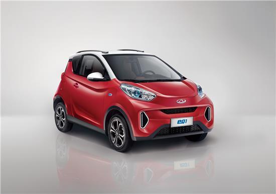 奇瑞新能源汽车前七个月累计销量12564辆