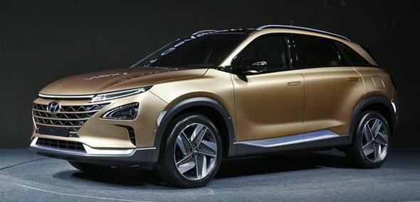 现代全新纯电动SUV亮相 可续航800公里