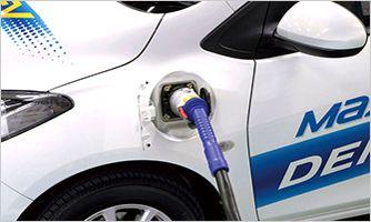 马自达亦积极研发电动汽车技术Mazda EV