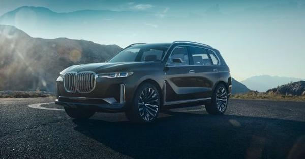 宝马发布BMW X7插电混动SUV概念车 明年首发
