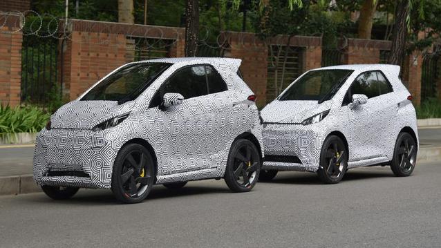 车和家SEV路测谍照曝光 4万元电池可携带的电动车