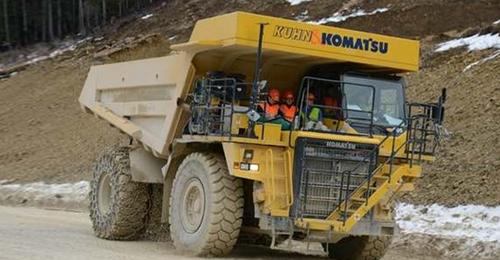 瑞士投入世界最大电动卡车 电池组总重4,5吨