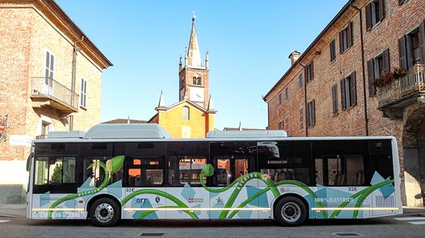 比亚迪打造意大利首支纯电动大巴车队