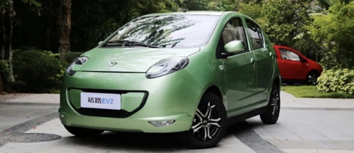 东风裕隆裕路EV2电动车正式上市售价4.98-5.28万元