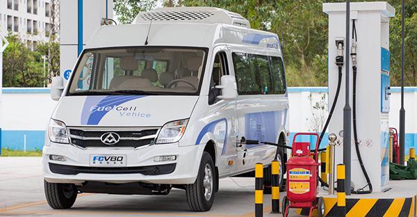 坚持前瞻技术开发 上汽大通燃料电池车规划