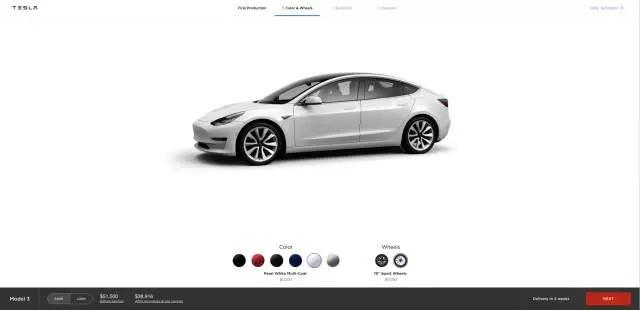 见证爬坡的时刻到了!特斯拉Model 3外部订单交付