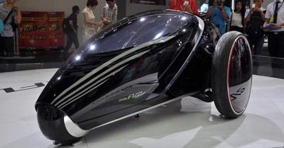 旧金山车展展出历届最多新能源车 年长者更关注
