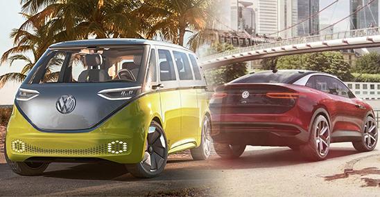 上汽大众投产全新MEB平台 打造多款电动车