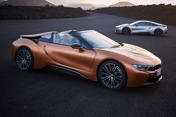 动力提升 宝马i8 Roadster正式发布-电动汽车网 新能源汽车网 EV视界图片