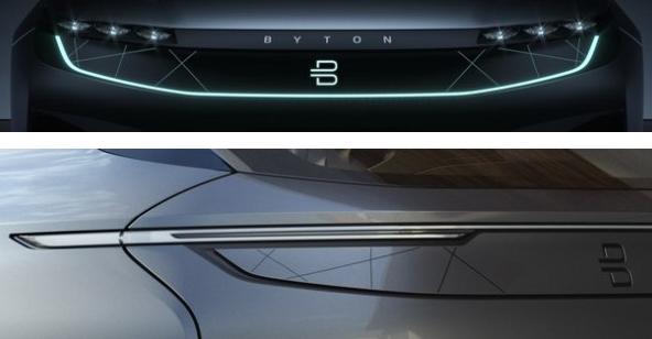 2019年上市/细节图曝光 拜腾纯电动智能SUV