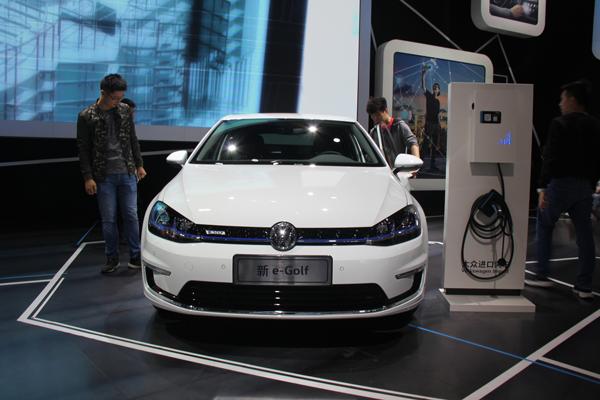 续航255公里 大众进口新e-Golf将于下月上市