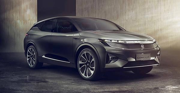 与时俱进的智能SUV座驾 BYTON拜腾首款概念车发布