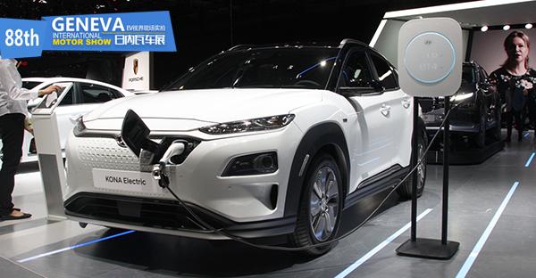 日内瓦车展:最大续航470公里 现代发布KONA EV
