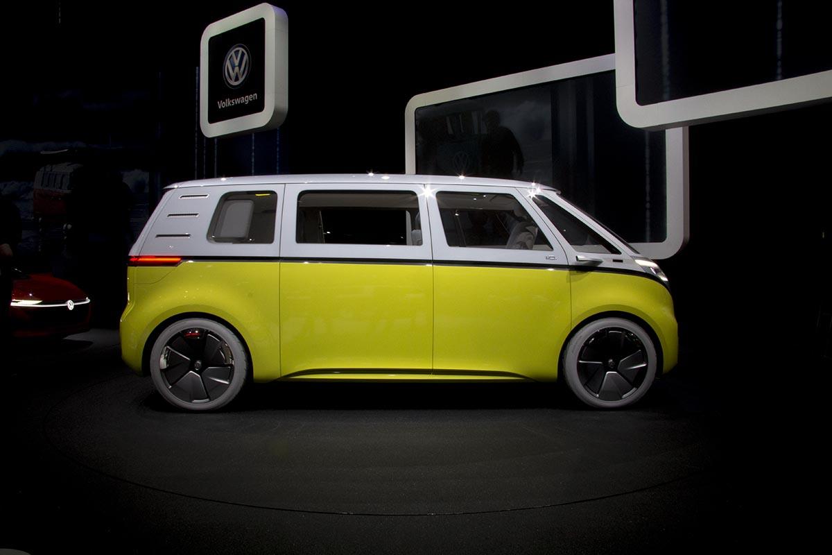 大众I.D系列四款概念车亮相日内瓦