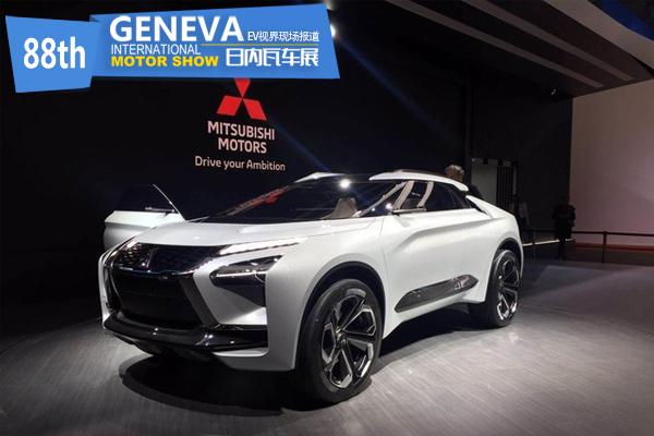 日内瓦车展:三菱e-EVOLUTION亮相