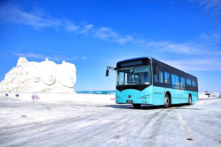 无惧零下47℃极寒低温 比亚迪纯电动客车勇战海拉尔