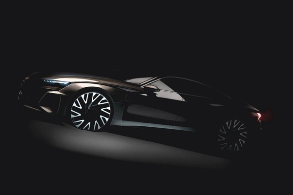奥迪e-tron GT预告图曝光 或2020年发布