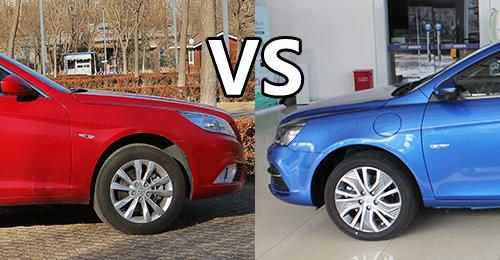 紧凑型电动车选谁 帝豪EV450对比EU400