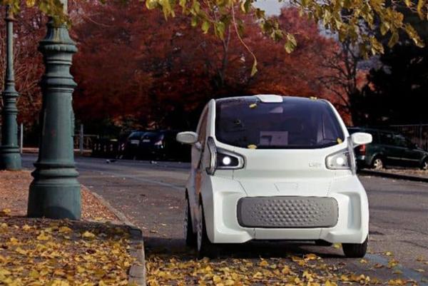 首款3D打印电动汽车LSEV 有望亮相北京车展