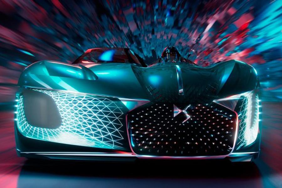 DS发布X E-Tense概念车 采用不对称设计