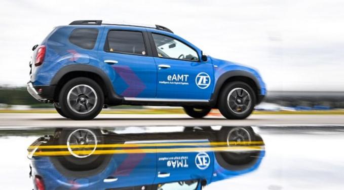 不仅四驱还节能 采埃孚推出eAMT自动变速箱