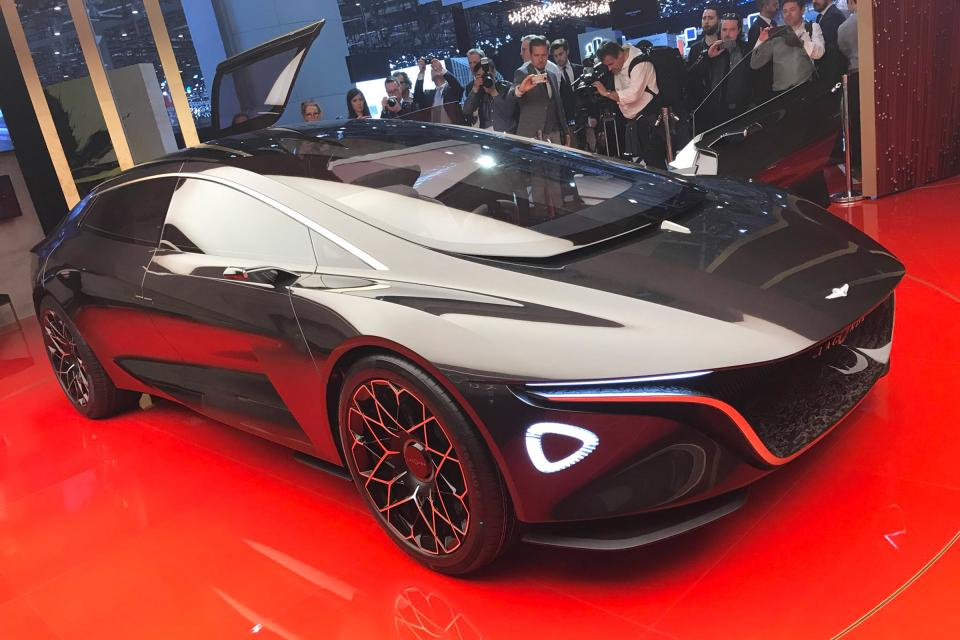 阿斯顿马丁打造新能源汽车生产基地 明年投产