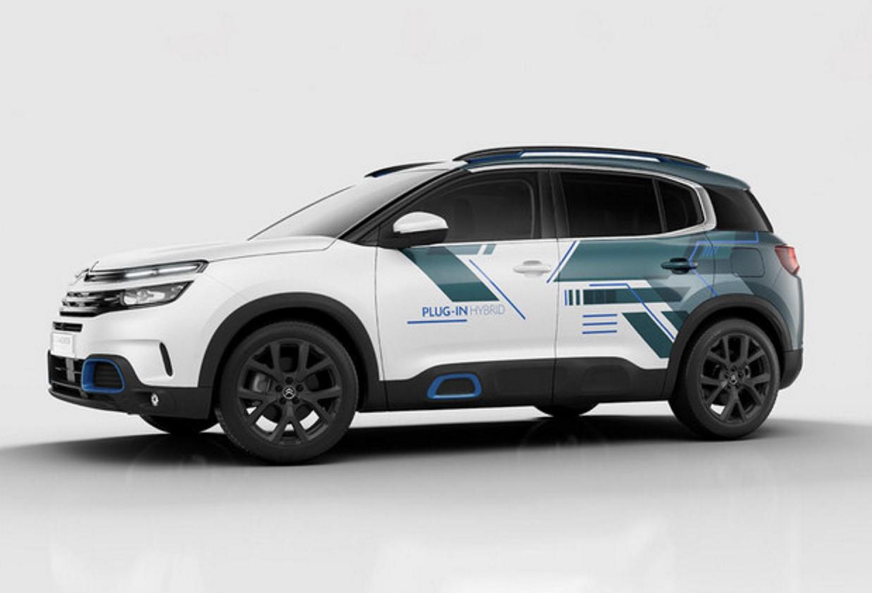 雪铁龙天逸PHEV概念车型官图 新车将亮相巴黎车展