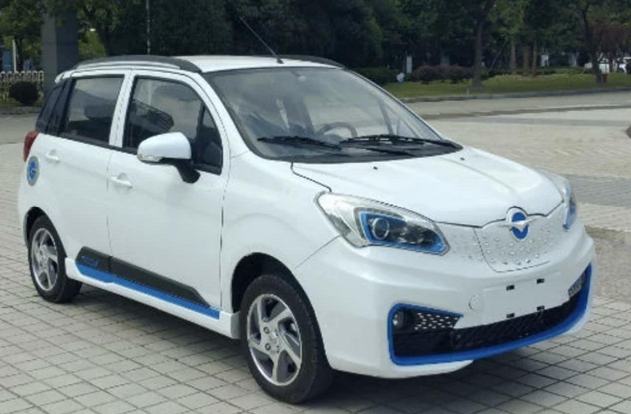 海马E1纯电动车申报图曝光 最高时速为100km/h