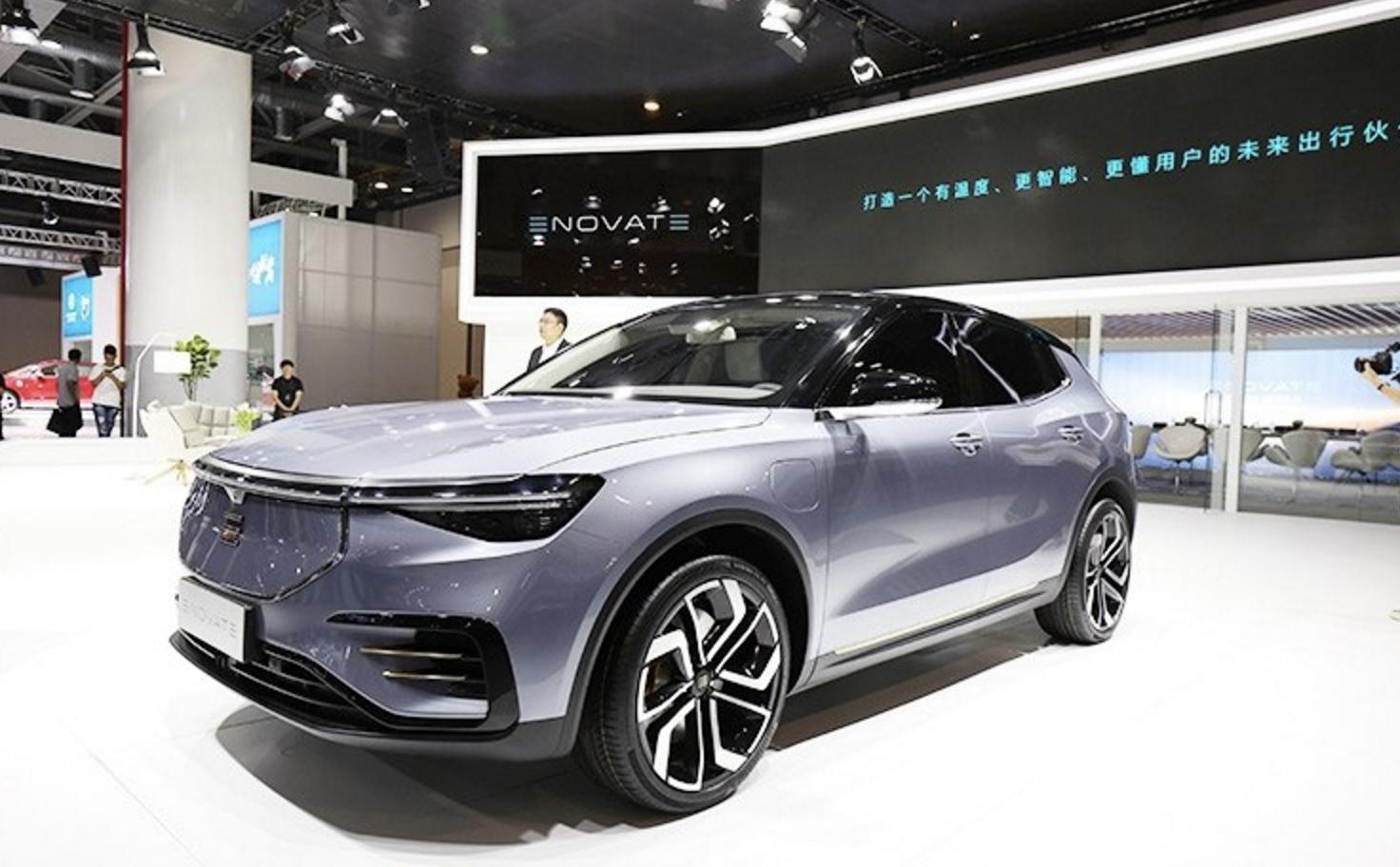 电咖汽车旗下高端品牌ENOVATE首款纯电动SUV车型正式亮相