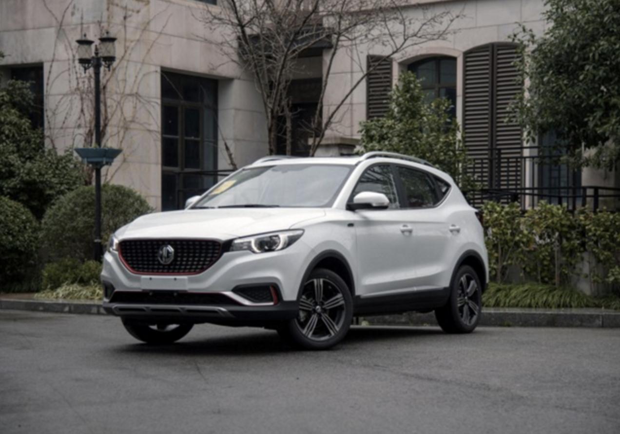 上汽名爵EZS小型纯电动SUV申报信息曝光 预计今年亮相