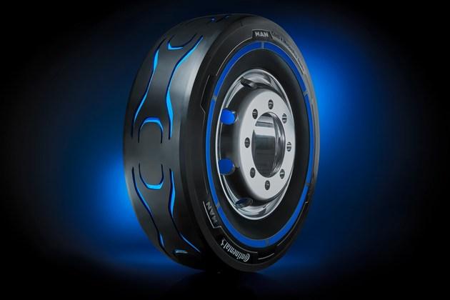 大陆集团携手MAN共同推电动汽车专用轮胎
