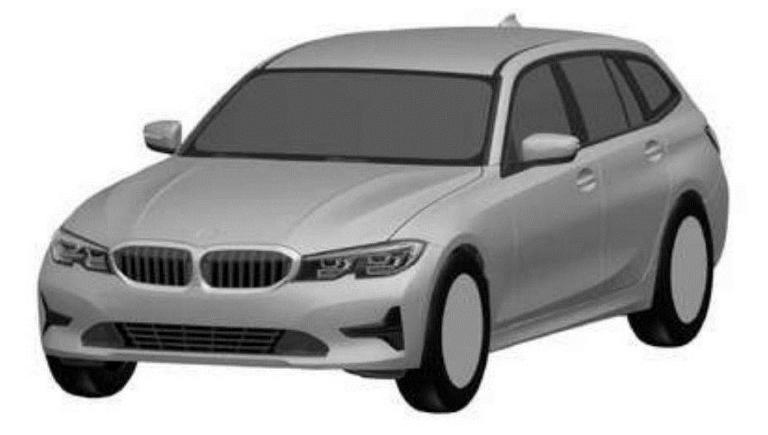 新宝马3系旅行版专利图曝光 将推PHEV车型