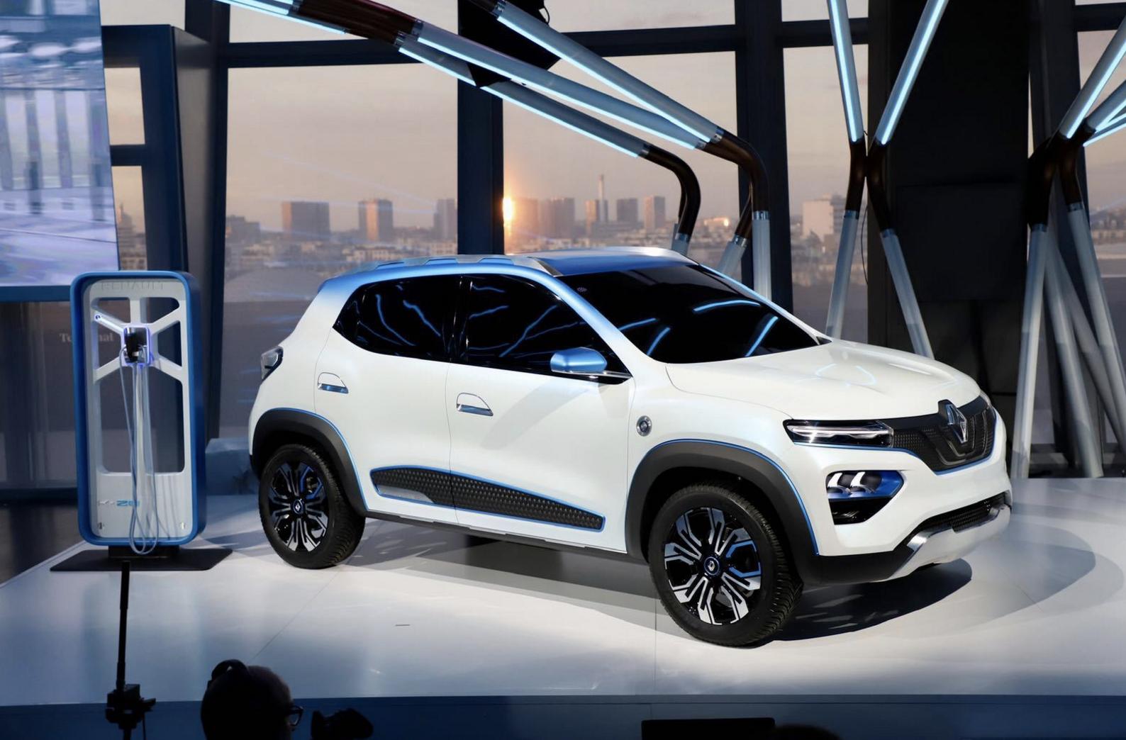 雷诺发布K-ZE电动SUV 续航250公里 明年推国产