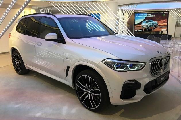 2022年宝马X5预计将国产 紧随其后将推出系列电动汽车